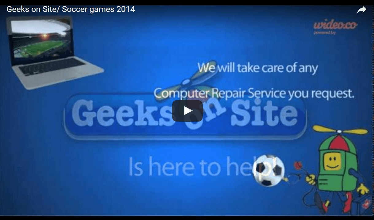 Geeks on Site/Soccer games 2014