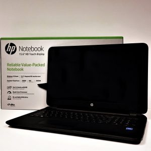 "HP 15.6"" Touchscreen Laptop"